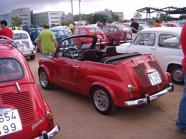 Fiat 600 Club - Pasión por el Fitito - Concentración A por los 600 600 Viladecans (Barcelona) - Viajes - Anécdotas