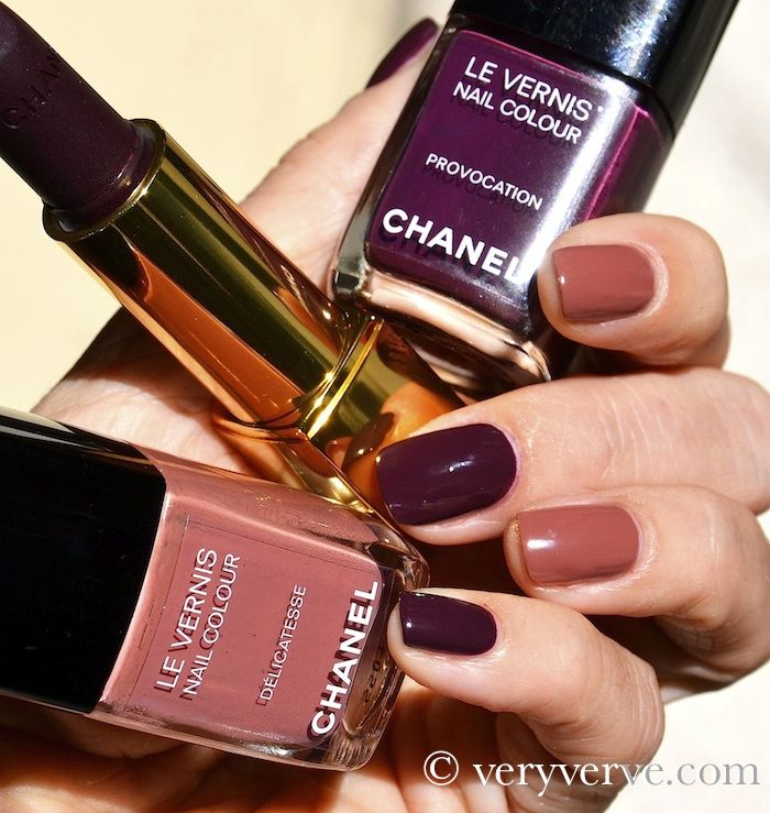 purple and pink, but also add tan or taupe