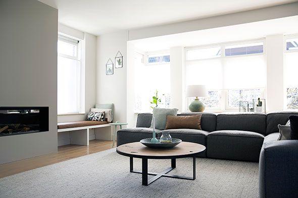 25 beste idee n over eettafel bank op pinterest - Interieur meubels ...