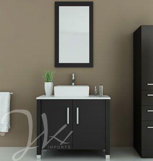 35 5 gemini single vessel sink vanity stone top - Reasonably priced bathroom vanities ...