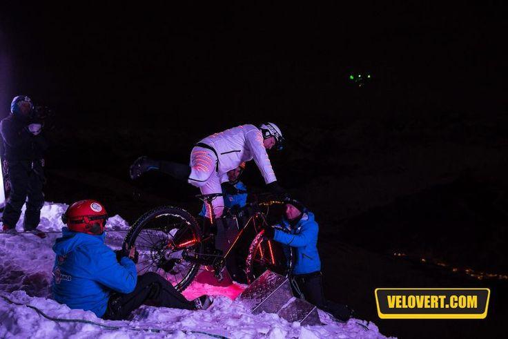 Infos VTT : «Éclair» la performance incroyable d'Éric Barone de nuit