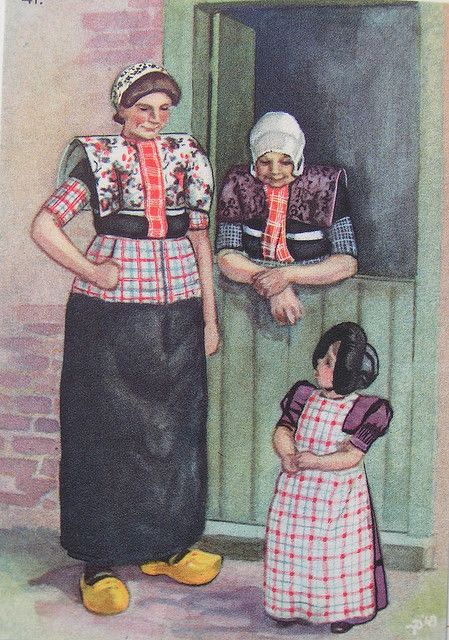 Traditional Dutch Clothing ... http://www.flickr.com/photos/14938051@N08/2951944314/