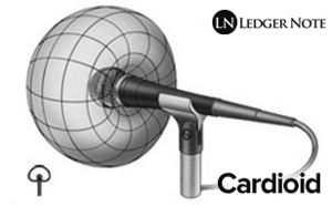 A 3d visualization of a Cardioid pickup pattern: http://ledgernote.com/columns/studio-recording/microphone-pickup-patterns-directionality/