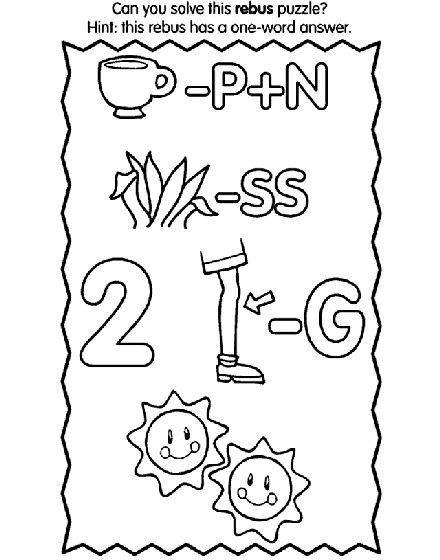 12 best rebus puzzles images on pinterest