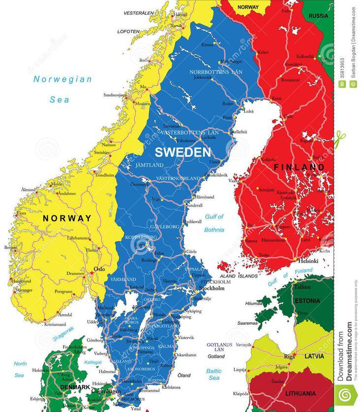 Corona Karte Schweden