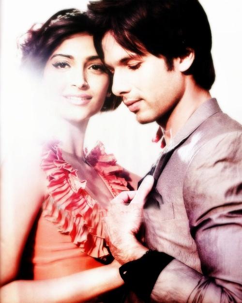 Love. #Sonam #Shahid #Bollywood