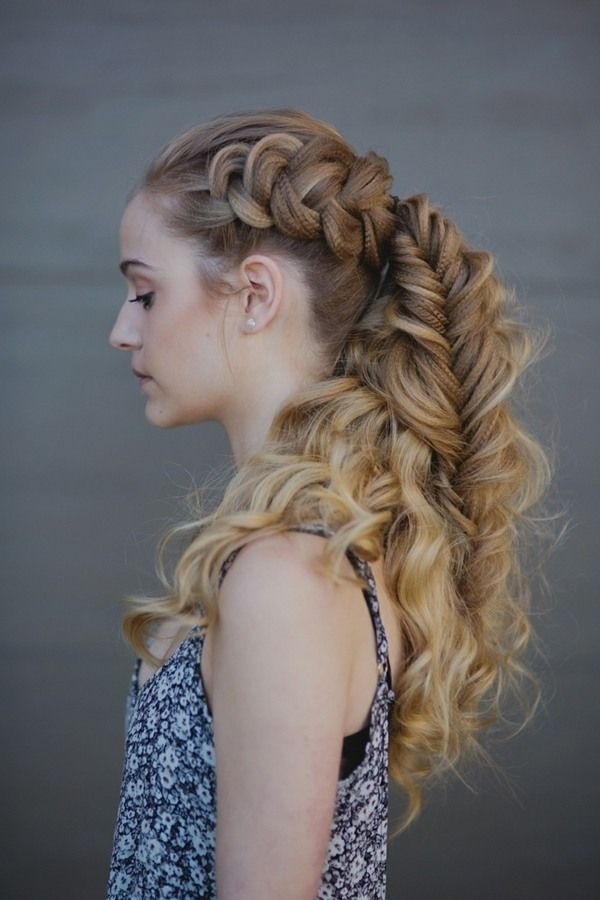 Related Image Curly Hair Braids Braided Hairstyles