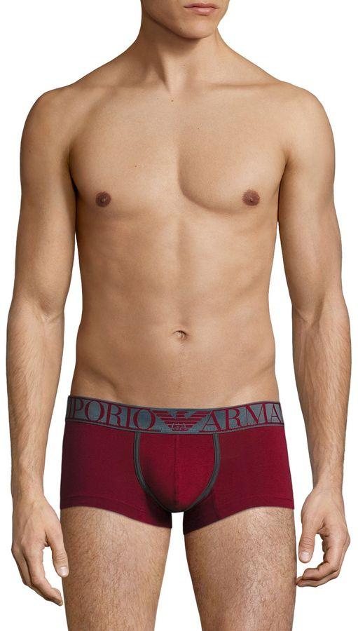 Emporio Armani Men's Trendy Magnum Trunks