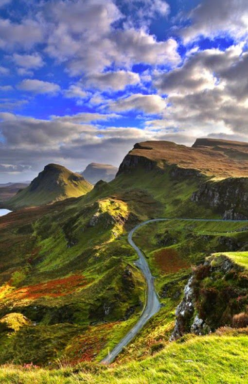 The Quiraing, Isle of Skye, Scotland. What a beautiful island! Indescribable July 2015