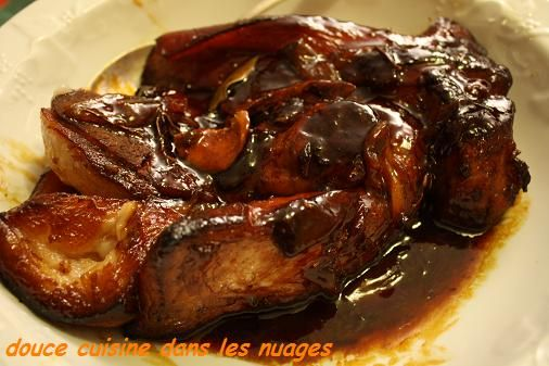 362 best images about recette de porc on pinterest glazed pork sauces and pulled pork - Cuisiner poitrine de porc ...
