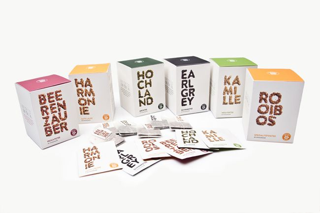 TeekannePackaging Teas, Teas Boxes, Design Ideas, Teekanne Teas, Packaging Design, Teas Packaging, Martin Strobel, Christopher Walser, Creative Packaging