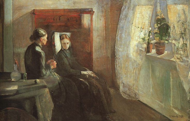 Edvard Munch -Spring , 1889