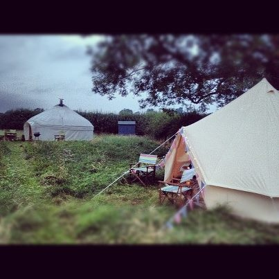 Bell Tent & Yurt Glamping in Yorkshire