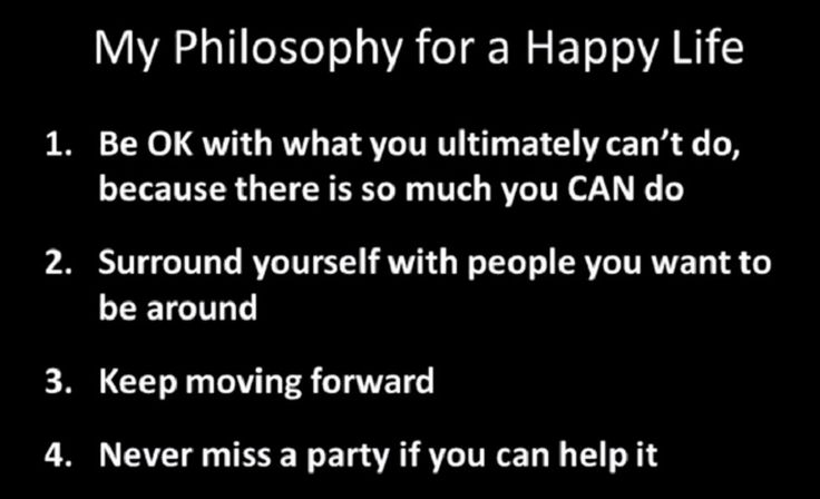 Sam Berns has Progeria, an extremely rare genetic disease of childhood characterized by dramatic, premature aging.  He also has a simple philosophy for a happy life.