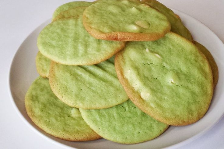Pandan Sugar Cookies recipe on Food52