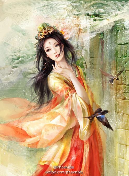 Digital Art by Chinese artist Phoenixlu  #ArtisticSerendipity