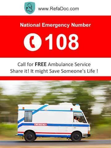 Emergency Services No 108   Read more @ refadoc.com