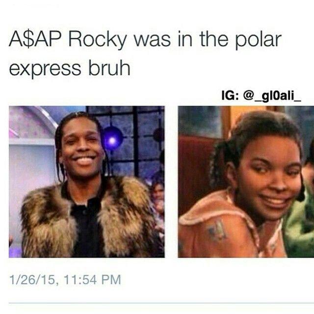 A$AP Rocky vs Polar Express girl | Stolen Looks ...