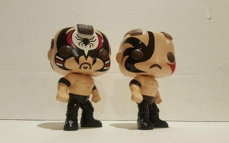 WWE Road Warriors Pop Funko Custom LOD Hawk Animal Set WWF Lot Vinyl Figures | eBay