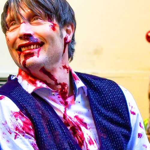 Mads looks so adorable here, and .. Hannibal looks adorable too.