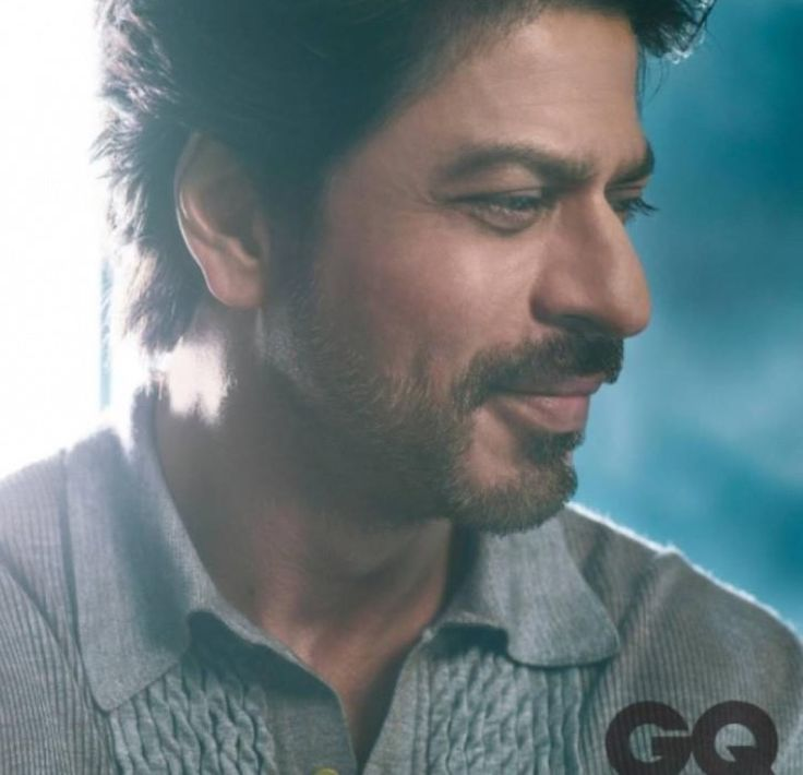 Dimples, check. Scruffy face, check. SRK for GQ India. My heart's stolen