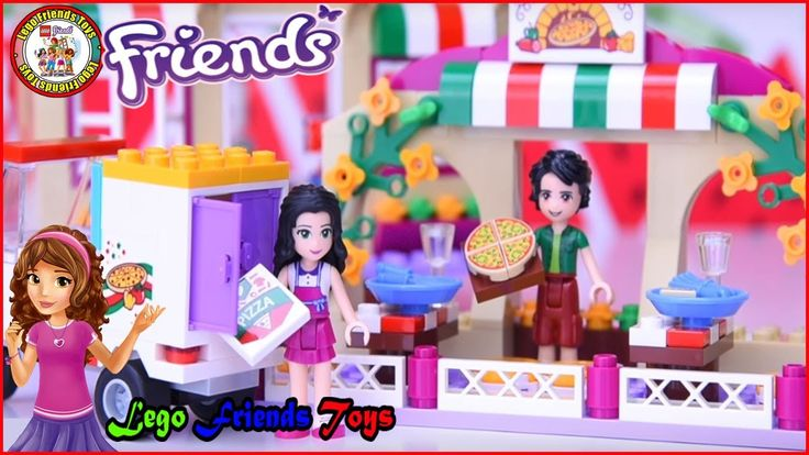 LEGO Friends Heartlake Pizzeria Build Review Silly Play - Kids Toys - BH...