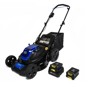 Kobalt 80-Volt Max Brushless Lithium Ion (Li-ion) 21-in Deck Width Cordless Electric Push Lawn Mower
