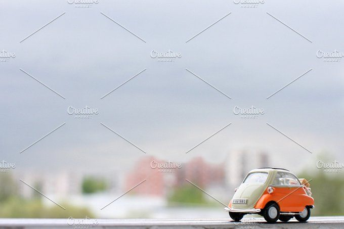 Isetta of town by tabby on @creativemarket
