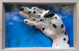 Spot the dog hand animal by 100percenthandmad on Etsy