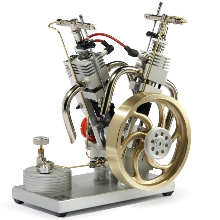The Desktop V Twin Engine - Hammacher Schlemmer