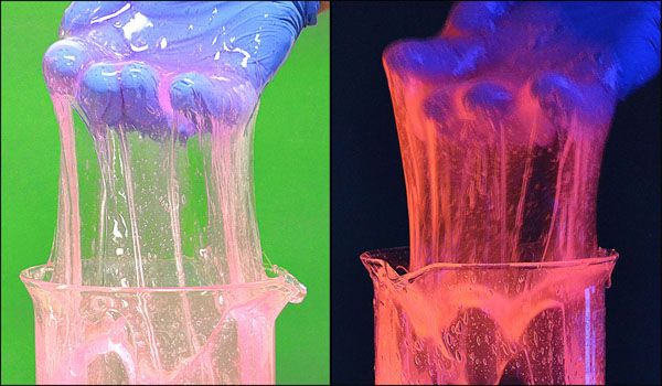 IS7041 Fluorescent Slime Using Polyvinyl Alcohol