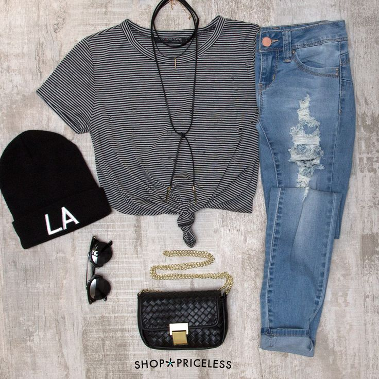 Notorious Distressed Skinny Jeans