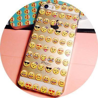 emoji icon phone 5 5s 6 6 plus phone cover happy funny blue