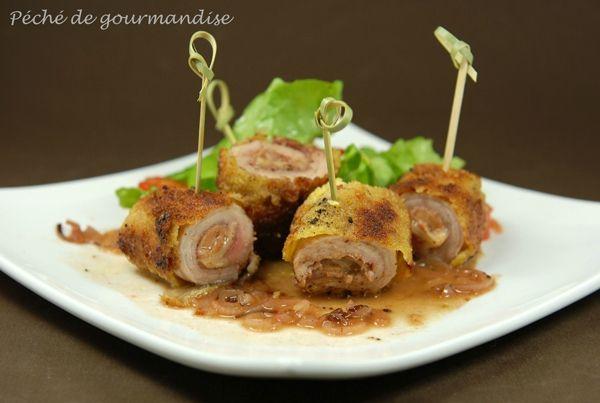 Piccata veau foie gras