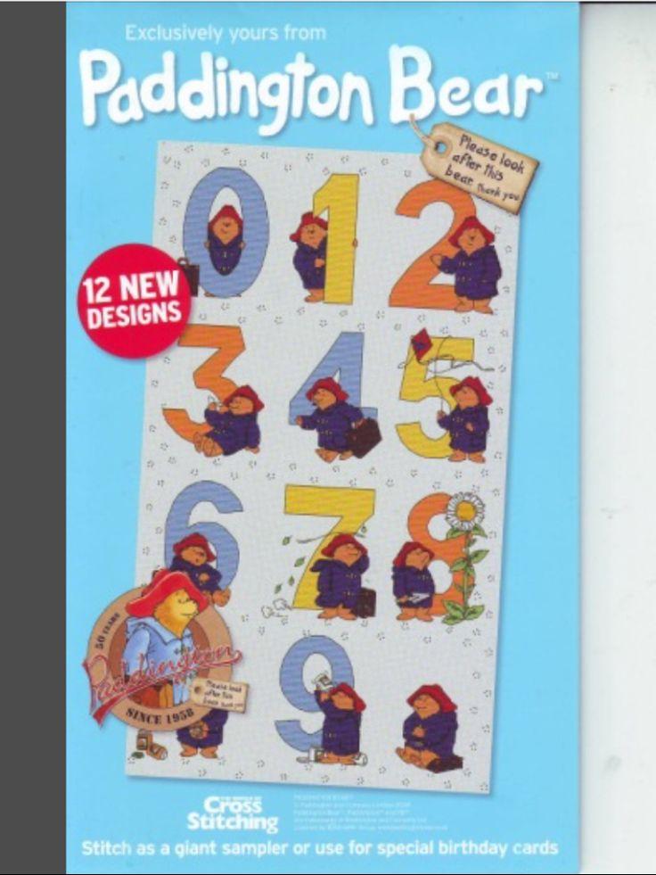 Paddington Bear Numbers The World of Cross Stitching Issue 146 January 2009 Saved