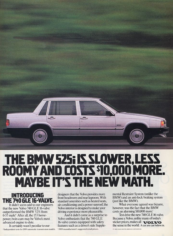 Volvo 740 - US-adv (1989)                                                                                                                                                                                 Plus