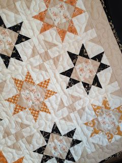 My autumn version of the Mini Shine quilt (Pattern by A Quilting Life); Autumn…