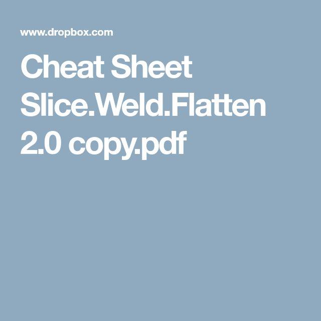 Cheat Sheet Slice.Weld.Flatten 2.0 copy.pdf