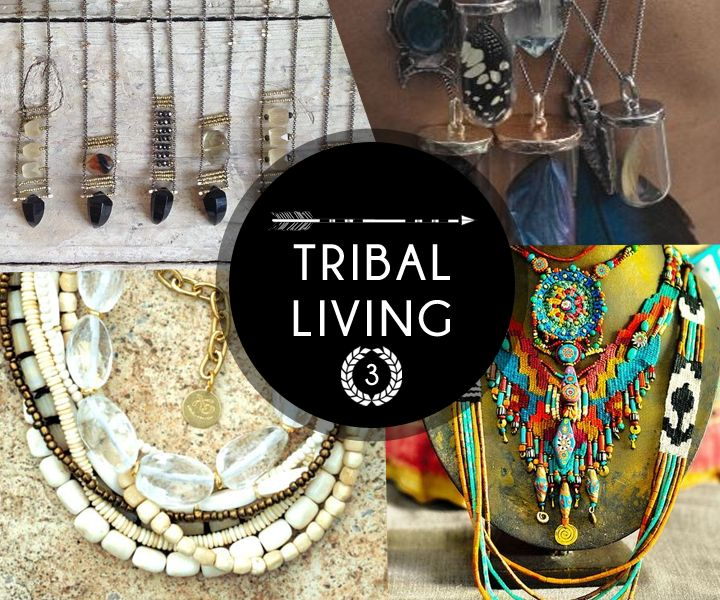 Beads signify strength and courage, that's what tribal living is all about. #FreeSpirit #SS15 #TribalMix
