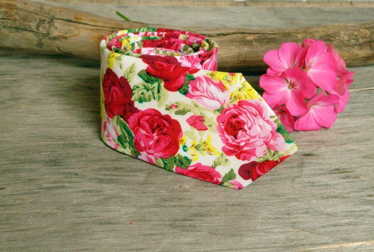 Pochette En Coton Pour Hommes Carré - Fleurs Roses Par Vida Vida hXNCYZDDCM