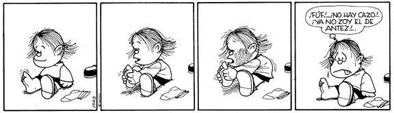 """#Guille """"El de antes"""" #Mafalda Quino"""