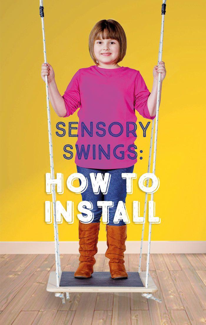 Sensory Swings: How to Install