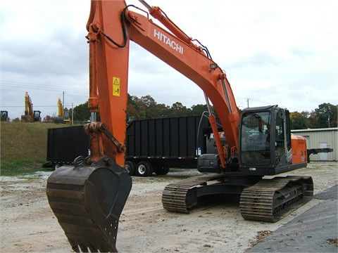 Used 2007 #Hitachi Zx200 LC-3 #Excavator available for sale by K&s equipment sales dealer in Woodland, AL, USA. This used crawler excavator #construction_machinery available in good condition just for $79000. Check out features and images given at http://www.hifimachinery.com/used-machinery/2007/excavator/hitachi/zx200/lc-3/3764/
