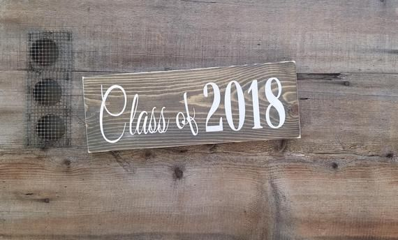 Class Of 2019 Wood Sign Senior Signs Rustic Signs Dorm Room Signs