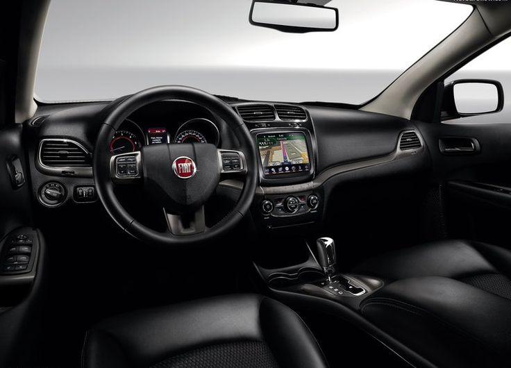 2015 Fiat Freemont Cross Interior