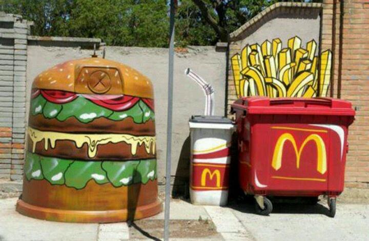 street marketing - McDonalds