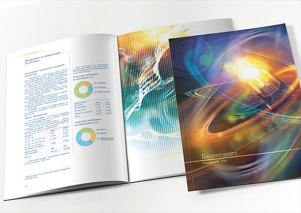 Годовые отчеты: Генерация энергии by Raѕhіt Αѕkarον, via Behance