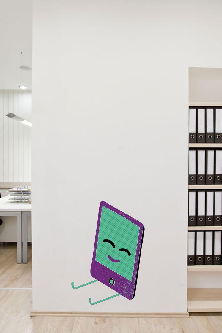 M s de 25 ideas incre bles sobre vinilos decorativos for Muebles de oficina jovalu