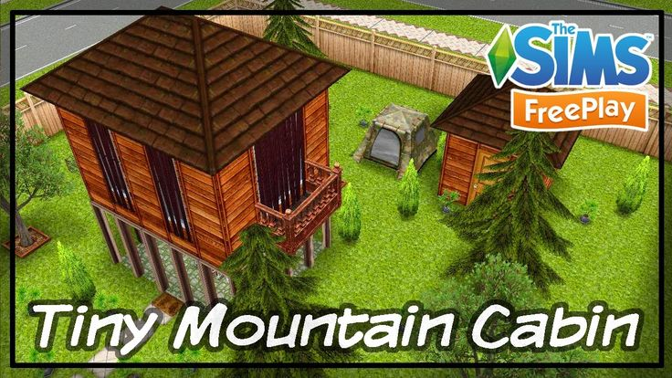 Sims FreePlay Tiny Mountain Cabin House Design Tour 심즈 프리플레이 숲 속 작은 오두막 집 꾸미기 The more detail & sims story - http://area21.tistory.com/