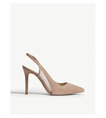 REISS Clara suede slingback sandals. #reiss #shoes #